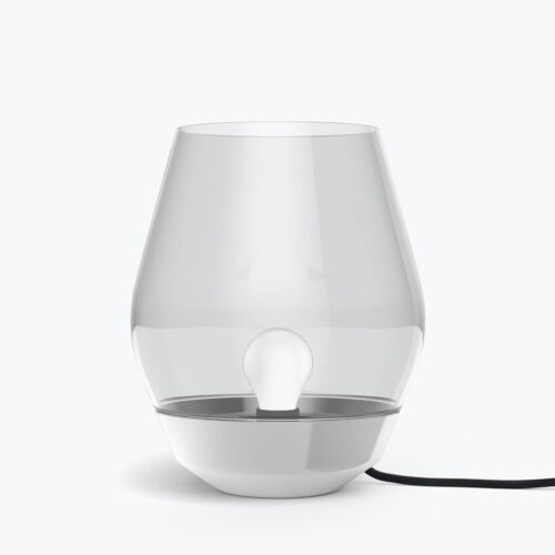 Bowl Table Lamp Stainless steel
