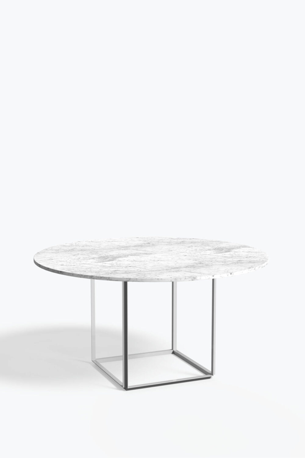 Florence+Table+145+Peal+White+Marble