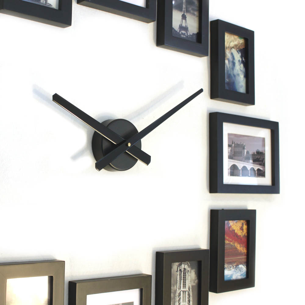 Photo picture wood frame wall clock 12 homeloo amipublicfo Gallery