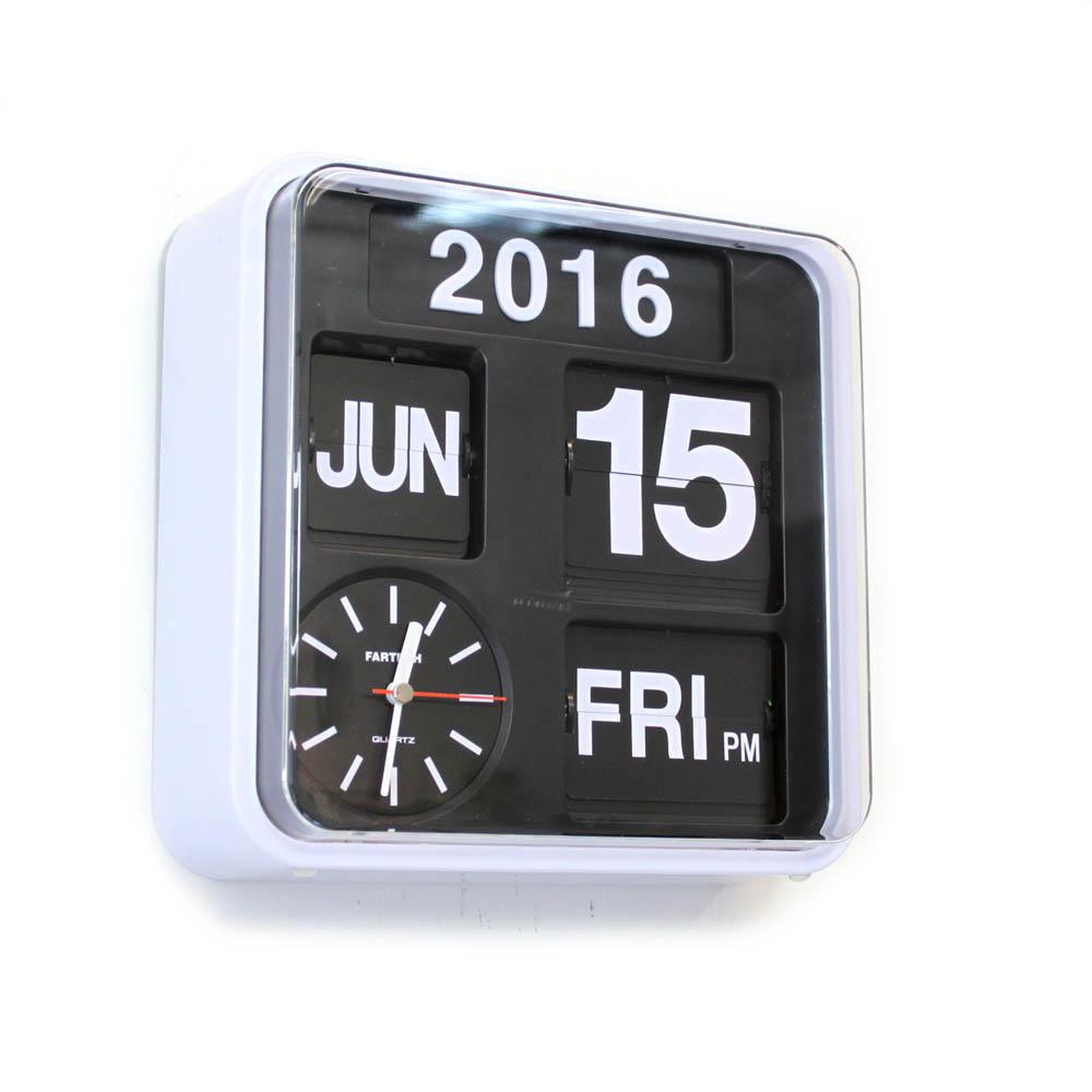 Fartech wall flip clock s homeloo amipublicfo Choice Image