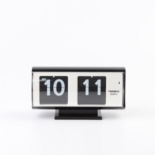 Twemco Flip Clock QT-30T - Black