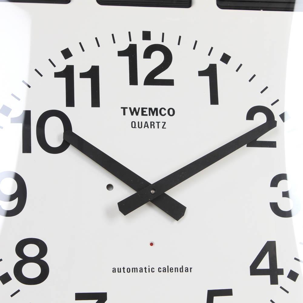 Twemco Calendar Flip Wall Clock Bq 20 Homeloo