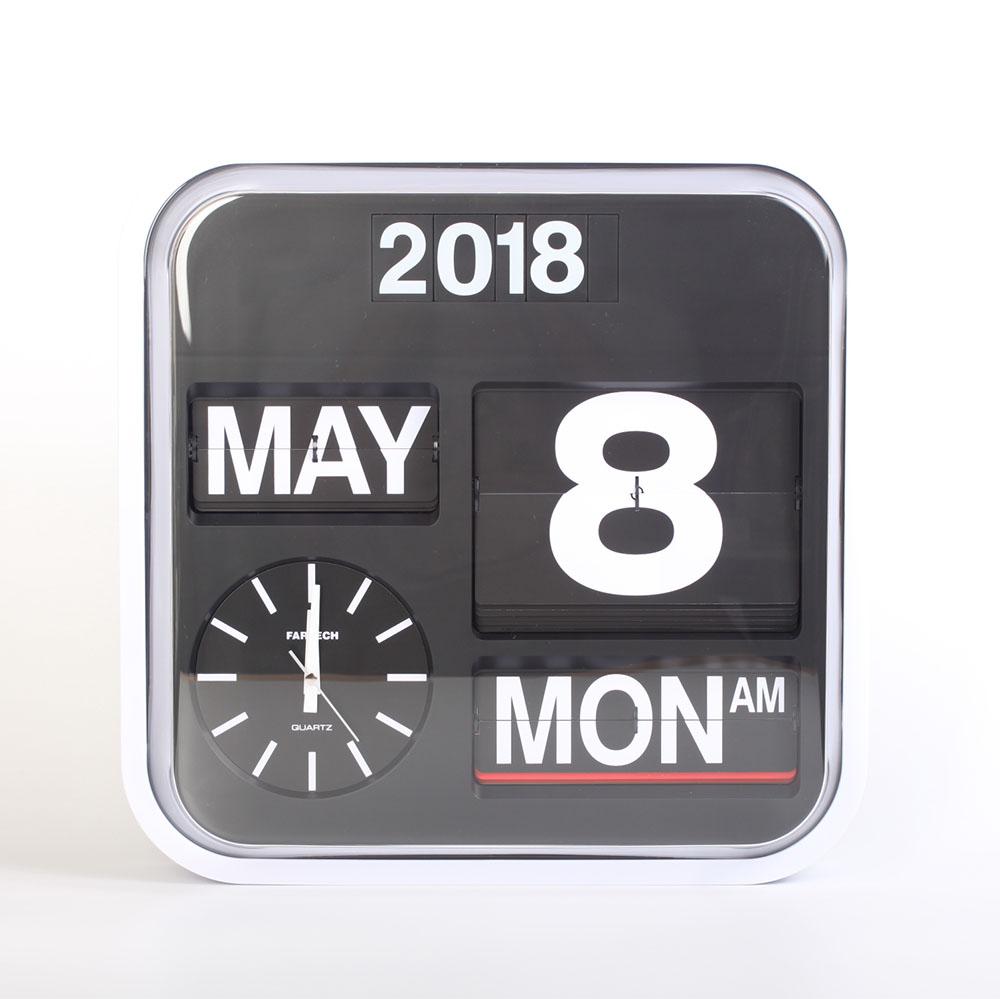 Fartech Wall Flip Clock (L)