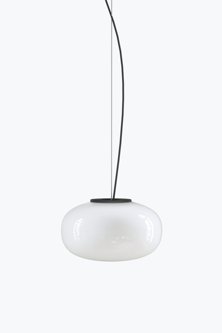 Karl-Johan+Pendant+Opal+Glass,+Small