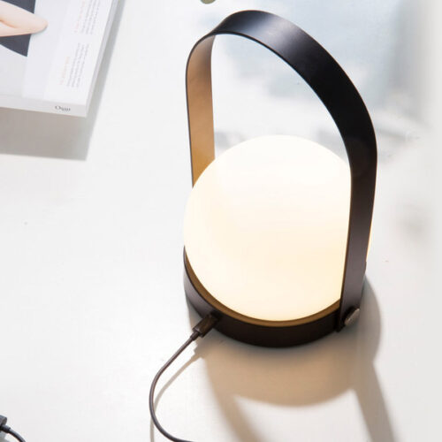 Menu-Carrie-LED-Table-Lamp-Black-USB-charge