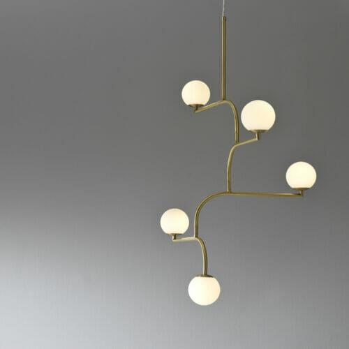 Mobil-pendant-lamp-brass