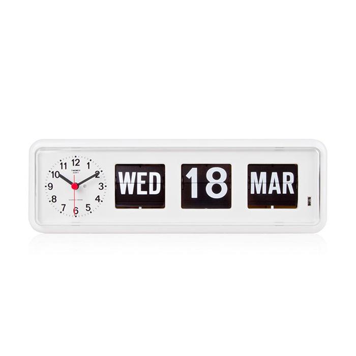 Twemco Calendar Flip Wall Clock Bq 38 Homeloo