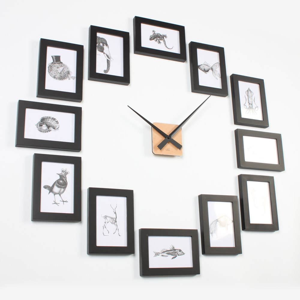 Picture Frame Clock 4R Black U2013 Homeloo Great Pictures